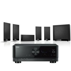 Yamaha RX-V6A AV Receiver with KEF T105 System 5.1 Speaker Pack