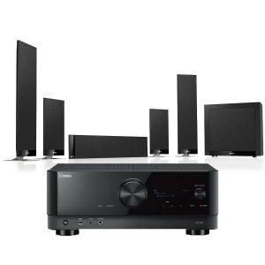 Yamaha RX-V6A AV Receiver with KEF T205 System 5.1 Speaker Pack