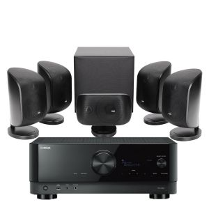 Yamaha RX-V6A AV Receiver with Bowers & Wilkins MT-50 Home Theatre System