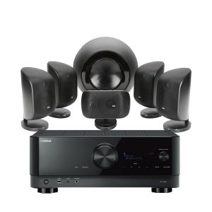 Yamaha RX-V6A AV Receiver with Bowers & Wilkins MT-60D Home Theatre System