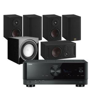 Yamaha RX-V6A AV Receiver with Dali Opticon 1 MK2 5.1 Home Cinema Speaker Package