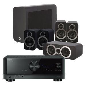 Yamaha RX-V6A AV Receiver with Q Acoustics 3030i AV Speaker Pack