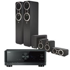 Yamaha RX-V6A AV Receiver with Q Acoustics 3050i Cinema Pack