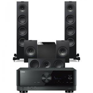 Yamaha RX-V6A AV Receiver with KEF Q550 AV Speaker Pack