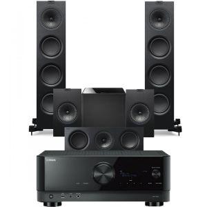 Yamaha RX-V6A AV Receiver with KEF Q750 AV Speaker Pack