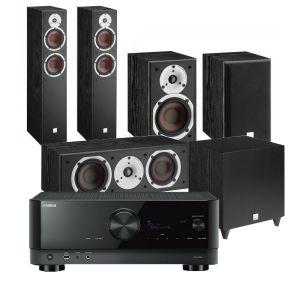Yamaha RX-V6A AV Receiver with Dali Spektor 6 5.1 AV Speaker System