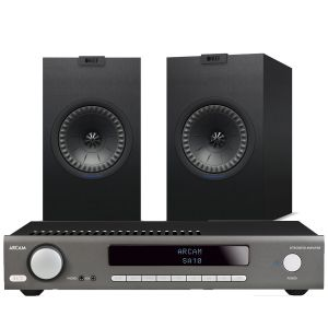 Arcam SA10 Integrated Amplifier with KEF Q150 Bookshelf Speakers