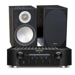 Marantz PM8006 HiFi Amplifier with Monitor Audio Silver 100 Speakers