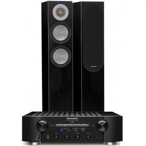 Marantz PM8006 HiFi Amplifier with Monitor Audio Silver 200 Speakers