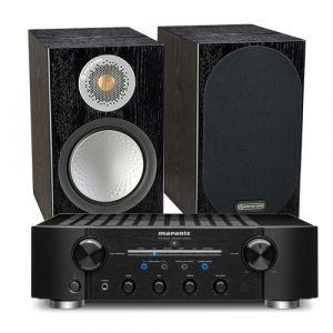 Marantz PM8006 HiFi Amplifier with Monitor Audio Silver 50 Speakers