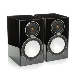Monitor Audio Silver 1 Speakers - High Gloss Black