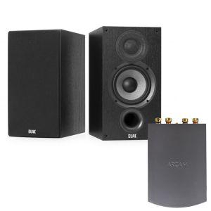 Arcam Solo Uno Streamer with Elac Debut B6.2 Bookshelf Speakers