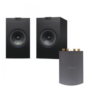 Arcam Solo Uno Streamer with KEF Q150 Bookshelf Speakers