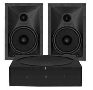 Sonos Amp with Sonos In-wall speaker (Pair)