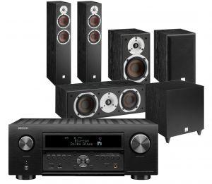 Denon AVC-X6700H 11.2 AV Amplifier with Dali Spektor 6 5.1 AV Speaker System