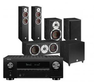 Denon AVC-X3700H Amplifier with Dali Spektor 6 5.1 AV Speaker System