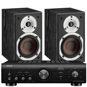 Denon PMA-600NE Integrated Amplifier with Dali Spektor 1 Bookshelf Speaker