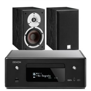 Denon CEOL RCD-N11DAB Hi-Fi CD Receiver with Dali Spektor 2 Bookshelf Speaker