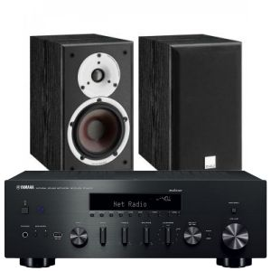 Yamaha R-N602 with Dali Spektor 2 Bookshelf Speakers