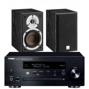 Yamaha CRX-N470D with Dali Spektor 1 Bookshelf Speakers