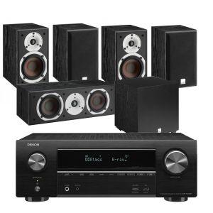 Denon AVR-X1600H DAB AV Receiver with Dali Spektor 1 -  5.1 AV Speaker System