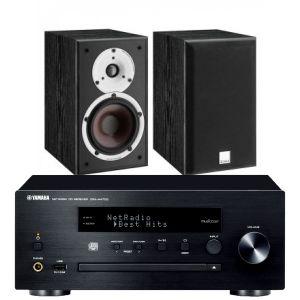 Yamaha CRX-N470D with Dali Spektor 2 Bookshelf Speakers