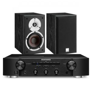Marantz PM6007 Integrated Amplifier with Dali Spektor 2 Bookshelf Speakers