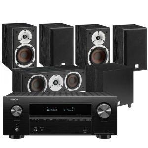 Denon AVR-X2700H AV Receiver with Dali Spektor 2 AV Speakers