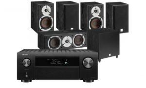 Denon AVC-X4700H AV Amplifier with Dali Spektor 2 AV Speakers