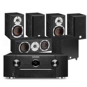 Marantz SR6015 9.2ch 8K AV Amplifier with Dali Spektor 2 AV Speakers