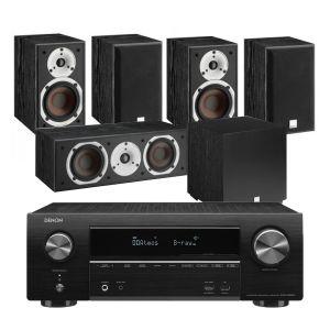 Denon AVR-X1600H DAB AV Receiver with Dali Spektor 2 AV Speakers