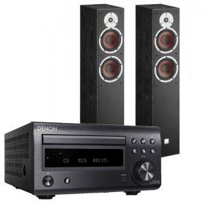 Denon D-M41DAB Hi-Fi System with Dali Spektor 6 Floorstanding Speakers