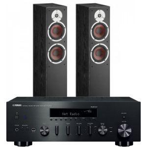 Yamaha R-N602 with Dali Spektor 6 Floorstanding Speakers