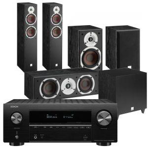 Denon AVR-X2700H AV Receiver with Dali Spektor 6 5.1 AV Speaker System