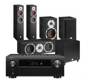 Denon AVC-X4700H AV Amplifier with Dali Spektor 6 5.1 AV Speaker System