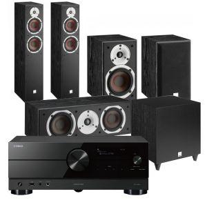 Yamaha RX-A2A AV Receiver with Dali Spektor 6 5.1 AV Speaker System