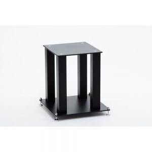 Ex Display - Custom Design SQ 404 Speaker Stands - Black Steel 20mm