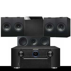 Marantz SR7015 9.2ch 8K AV Amplifier with KEF Q150 AV Speaker Pack