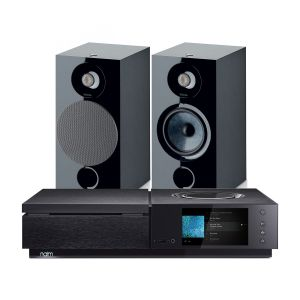 Naim Uniti Star All-In-One Player with Focal Chora 806 Bookshelf Speakers