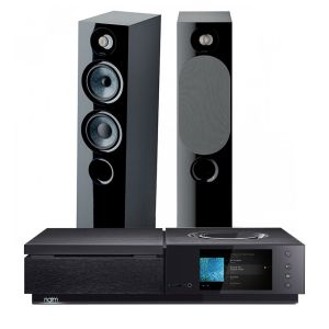 Naim Uniti Star All-In-One Player with Focal Chora 816 Floorstanding Speakers