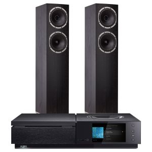Naim Uniti Star All-In-One Player with Fyne Audio F501 Floorstanding Speakers