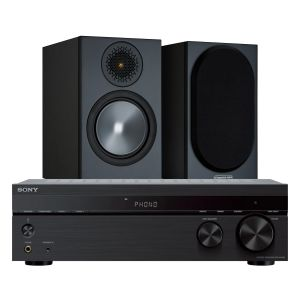 Sony STR-DH190 Stereo Receiver with Monitor Audio Bronze 50 Speakers (6th Gen)