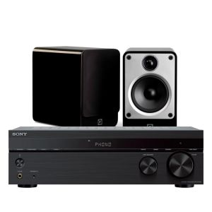 Sony STR-DH190 Stereo Receiver with Q Acoustics Concept 20 Speakers