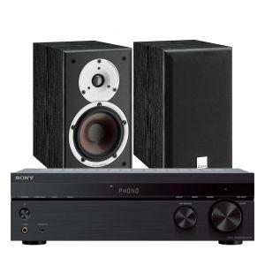Sony STR-DH190 Stereo Receiver with Dali Spektor 2 Bookshelf Speakers