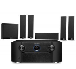 Marantz SR8015 11.2ch 8K AV Amplifier with KEF T305 System 5.1 Speaker Pack