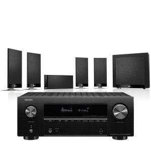 Denon AVR-X2700H AV Receiver with KEF T105 System 5.1 Speaker Pack
