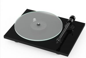 Open Box - Pro-Ject T1 BT Turntable - Black