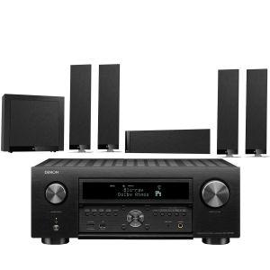 Denon AVC-X6700H 11.2 AV Amplifier with KEF T305 System 5.1 Speaker Pack