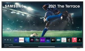"SAMSUNG QE55LST7TCU 2021 Range The Terrace 55"" 4K outdoor QLED Televsion"