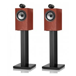 Open Box - Bowers & Wilkins 705 S2 Standmount Speakers - Rosenut